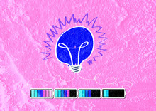 Light Bulb With Charging Batte...