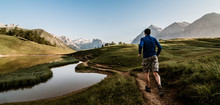 Trail Running In Montagna