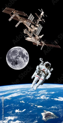 earth-satellite-astronaut-space