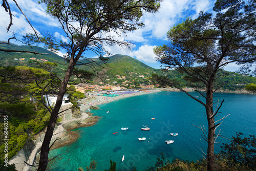 Photo sur Aluminium Ligurie Bonassola - Liguria - Italy