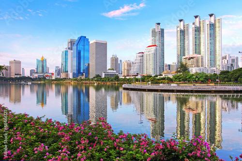 Poster Bangkok Cityscape in Bangkok, Thailand