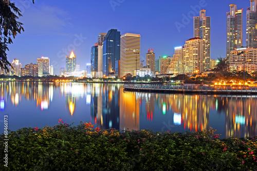 Foto op Plexiglas Texas Bangkok city downtown