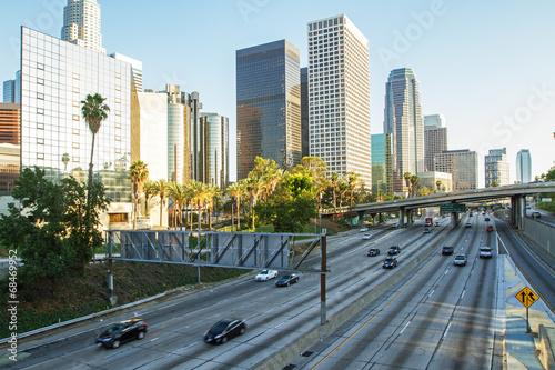 Deurstickers Los Angeles los angeles
