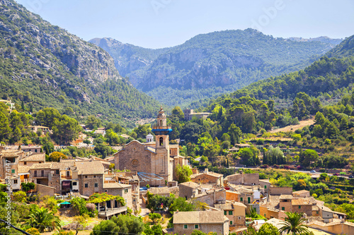 Fotografie, Obraz  Mountain village Valldemosa in Mallorca