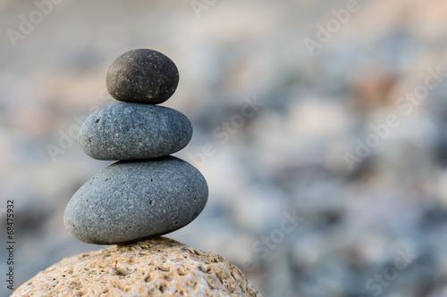 Fotografia  Stones balance background