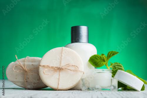 Obraz na plátně  Nastavení přírodní kosmetika Spa