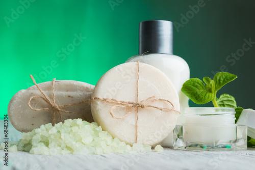 Fotografie, Obraz  Přírodní kosmetika Spa