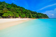 Beach of tropical crystal clear sea, Tachai island, Andaman, Tha
