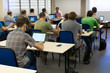lecture in a computer class
