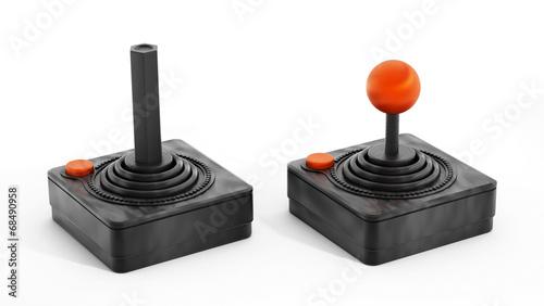 Fotografia  Vintage joysticks