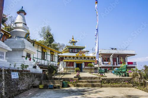 Poster Lama bon monastery