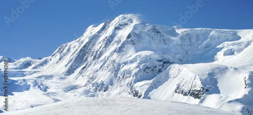 glacier near Matterhorn in Switzerland #68496369