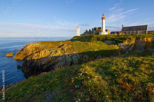 Garden Poster Lighthouse Saint Mathieu
