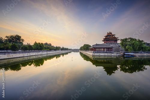 Foto op Aluminium Beijing Beijing, China Imperial City Moat