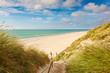 Leinwandbild Motiv Weg zum Strand