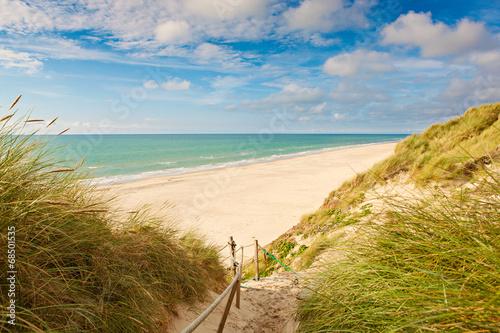 Fotografie, Obraz  Weg zum Strand