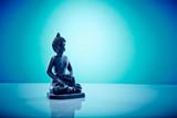 Buddah in lotus pose