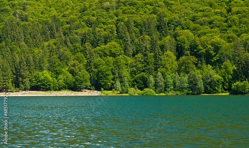 Photo  Saint Anna lake in summer