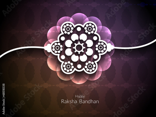Valokuva  Artistic background design for Raksha Bandhan