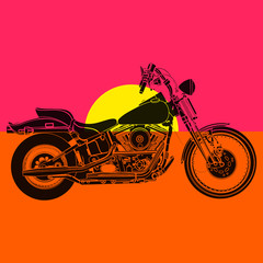 Fototapeta Do pokoju chłopca Moto sportster