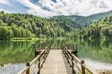 Beautiful lake and pier - 68528727