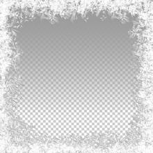 Transparent Vector Frozen Back...