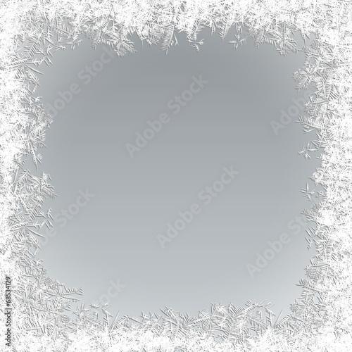 Fototapeta Vector Frozen Background obraz