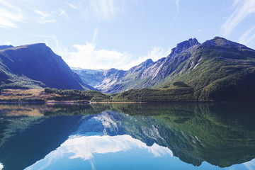 Fototapeta norweski widok