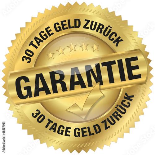 Fotografía  Garantie - 30 Tage Geld zurück