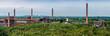 canvas print picture - Panorama der Kokerei der Zeche Zollverein Essen NRW