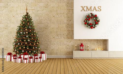 In de dag Retro Christmas lounge