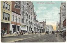 Dallas, Main Street 1908 (hist...