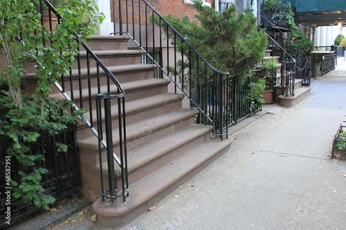 Fotografie, Obraz  NYC Steps
