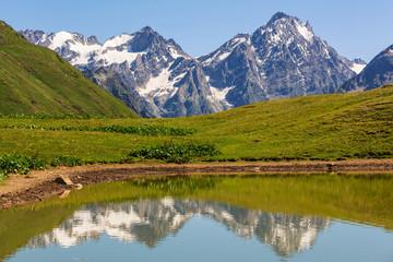 Fototapeta jezioro górskie