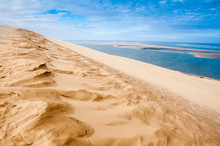 View From The Dune Of Pyla, Highest In Europe (France)