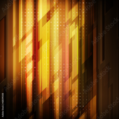 In de dag Bamboo Abstract technology futuristic lines vector background