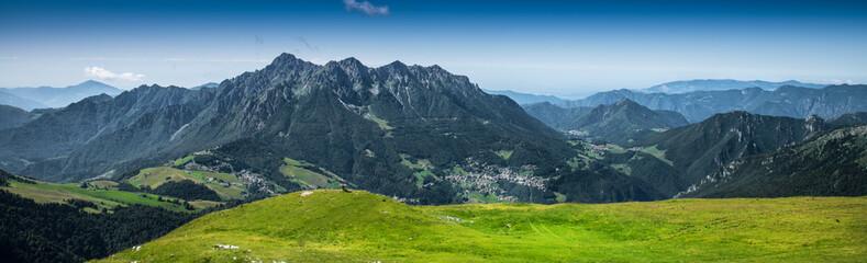 Fototapeta Góry panorama montano