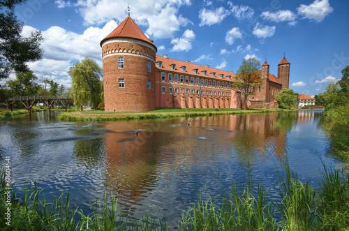 fototapeta na szkło Zamek w Lidzbarku Warmińskim
