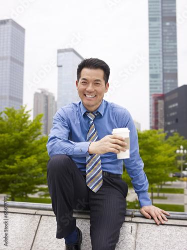 asian business executive Poster