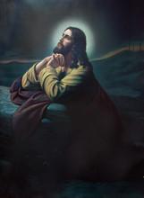 The Prayer Of Jesus In The Gethsemane Garden.