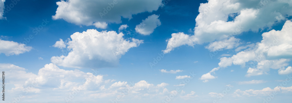 Fototapety, obrazy: blue sky background with clouds