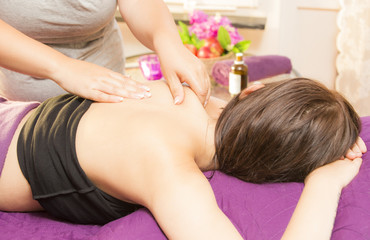 Obraz na płótnie Canvas Beauty spa treatment