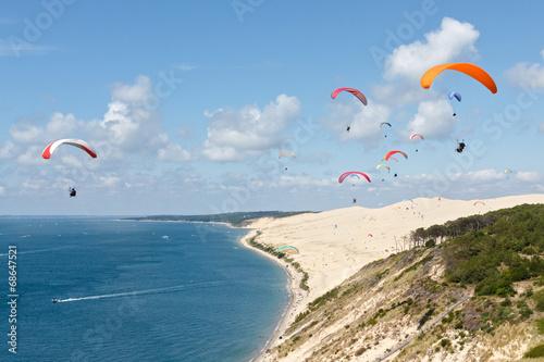 Parapente dune du Pilat Fototapete