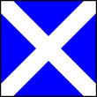 canvas print picture - International maritime signal flag