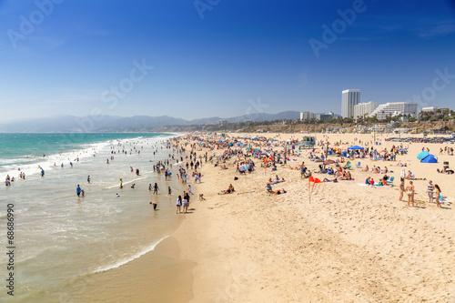 Poster Los Angeles Santa Monica Beach