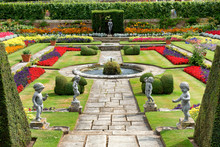 Sunken Garden At Hampton Court...