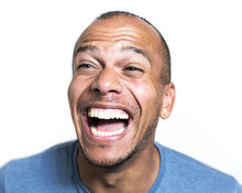 Portrait Of A Mixed Race Man L...
