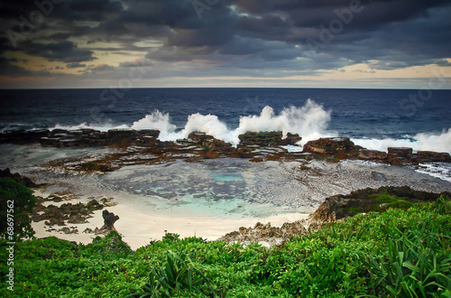 Fotografie, Obraz  Blowholes Tonga