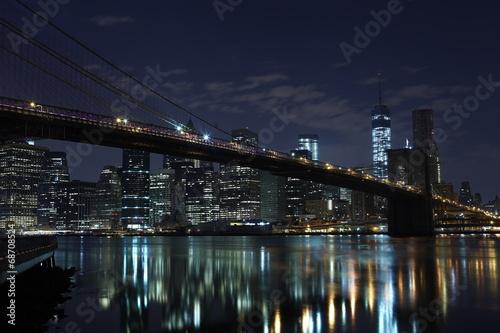 Printed kitchen splashbacks Brooklyn Bridge Brooklyn Bridge. New York. United States