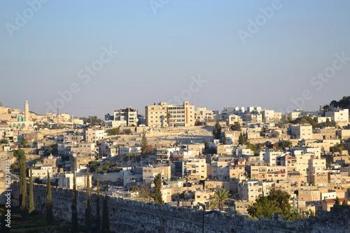 Fotobehang Midden Oosten Панорама Иерусалима